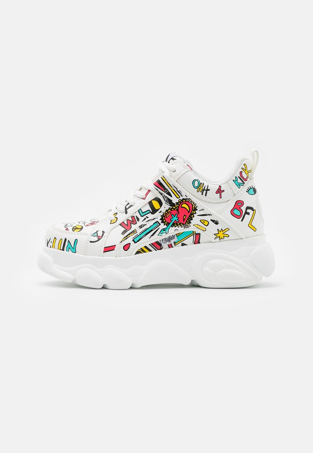 VEGAN CORIN - Sneakers laag - white/multicolor