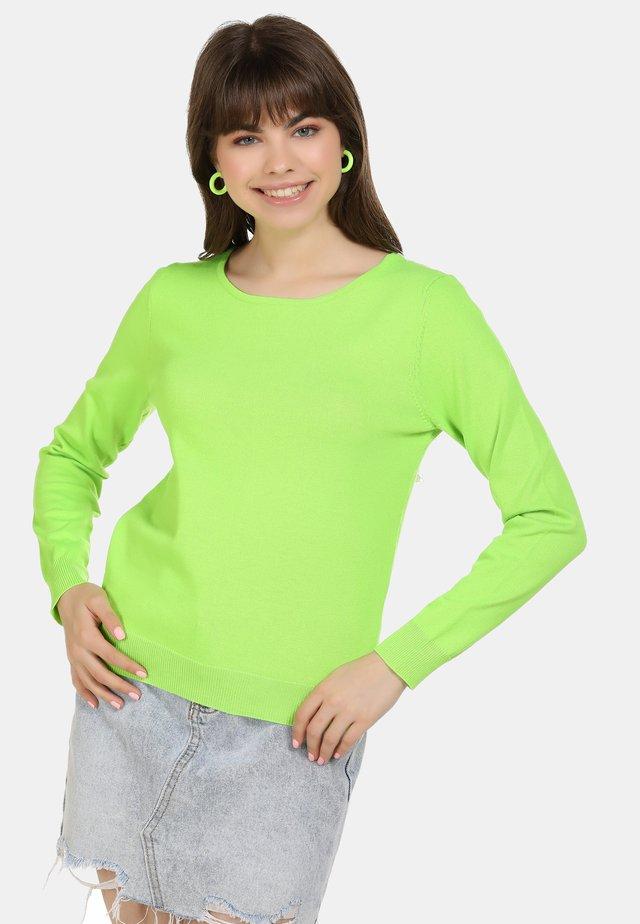 NEON - Sudadera - neon grün