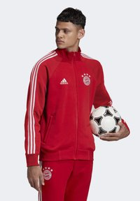 adidas Performance - FCB ICONS TOP - Training jacket - fcbtru/white - 3