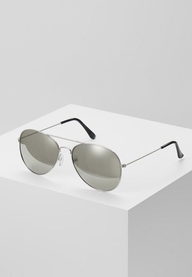 JAMES MIRROR LENS AVIATOR - Sluneční brýle - grey