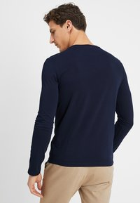 Benetton - BASIC CREW NECK - Long sleeved top - navy - 2
