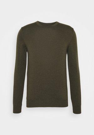 LYLE CREW NECK - Svetr - moss green