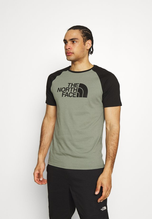 RAGLAN EASY TEE - Print T-shirt - agave green