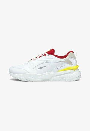 FERRARI RS-FAST  - Trainers - white-rosso corsa
