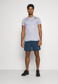 adidas Performance - RUN IT SHORT - Sports shorts - crew navy - 1
