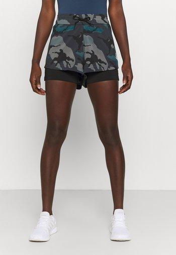 ZNE A.RDY - Sports shorts - dark grey/wild teal