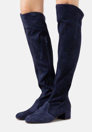 BOOT ZIP - Stivali sopra il ginocchio - abyss