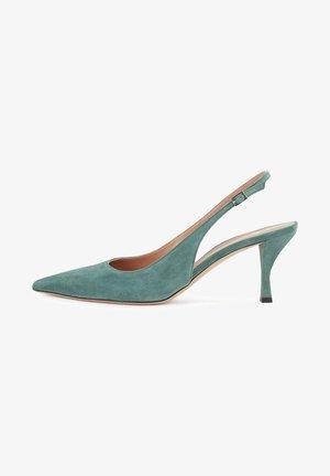 OLIVIA SLING - Slingback ballet pumps - light green