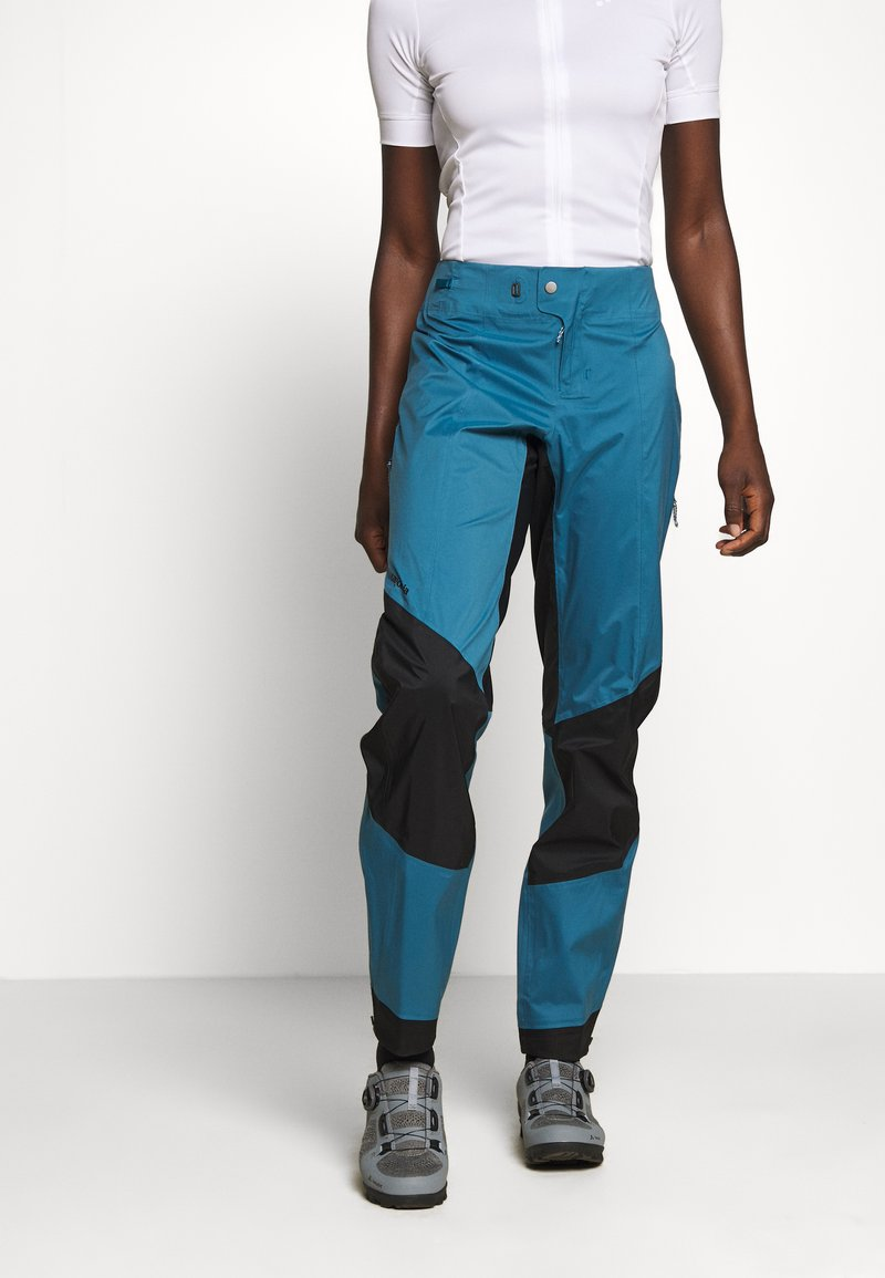Patagonia - DIRT ROAMER STORM PANTS - Outdoorové kalhoty - steller blue