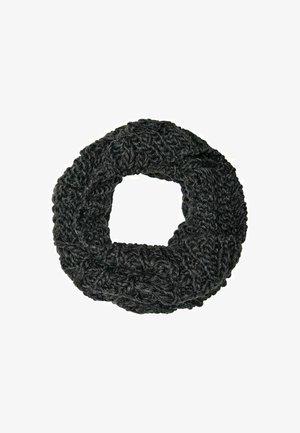 Sjaal - dark grey melange
