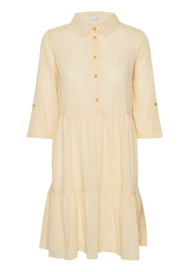 KAFFE KAVIVIAN DENIKE - Shirt dress - golden rod
