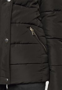 Dorothy Perkins Tall - GLOSSY HOODED JACKET - Winter jacket - black - 5