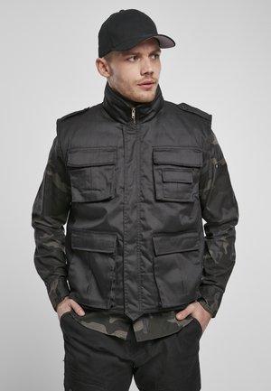 RANGER - Waistcoat - black