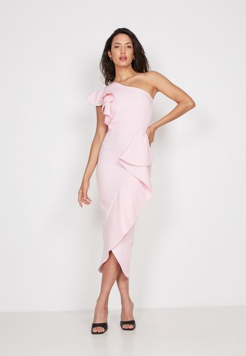 Sukienka koktajlowa - pink