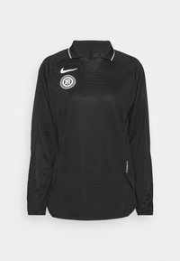 Nike Performance - Long sleeved top - black/reflective silver - 3