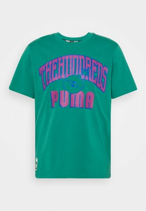 PUMA x THE HUNDREDS - Print T-shirt - ivy