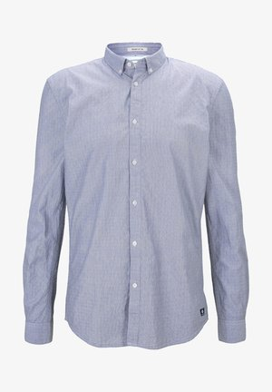 Camicia - blue white element stripe