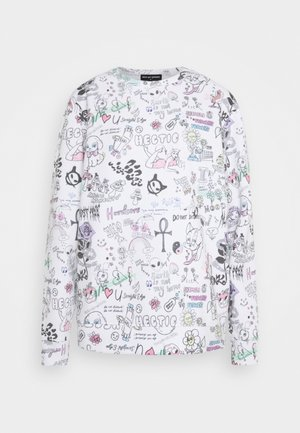 SCRIBBLE - Sweatshirt - white
