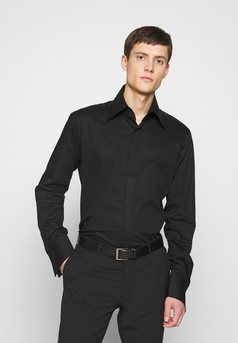 KARL LAGERFELD - MODERN FIT - Camicia elegante - black