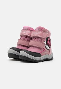 Geox - DINSEY FLANFIL GIRL ABX - Winter boots - rose - 1