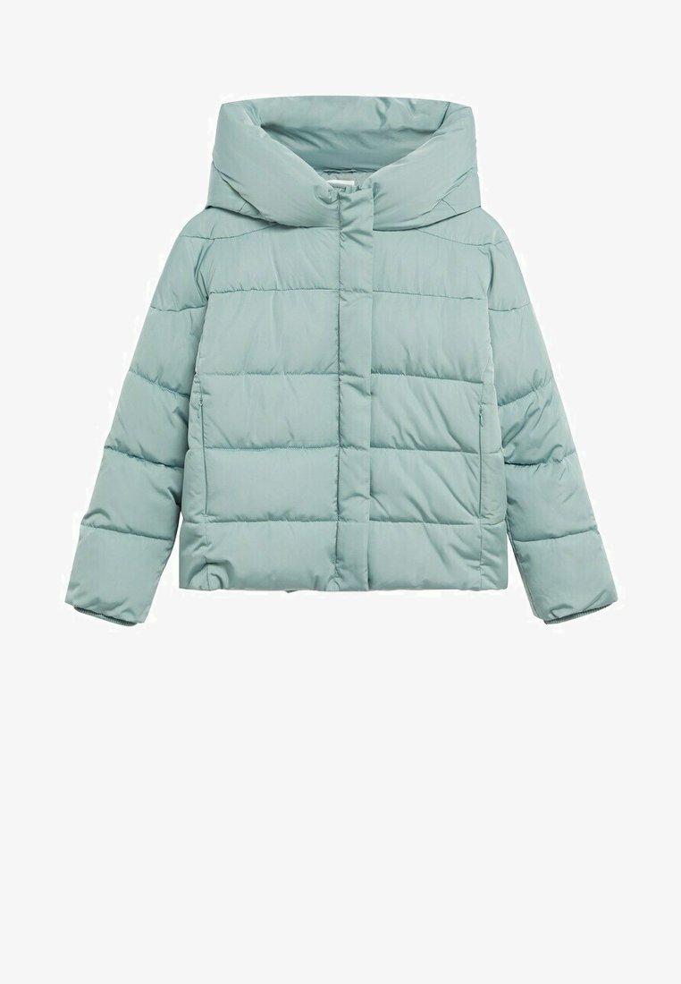 Mango - PEKIN - Winter jacket - wassergrün