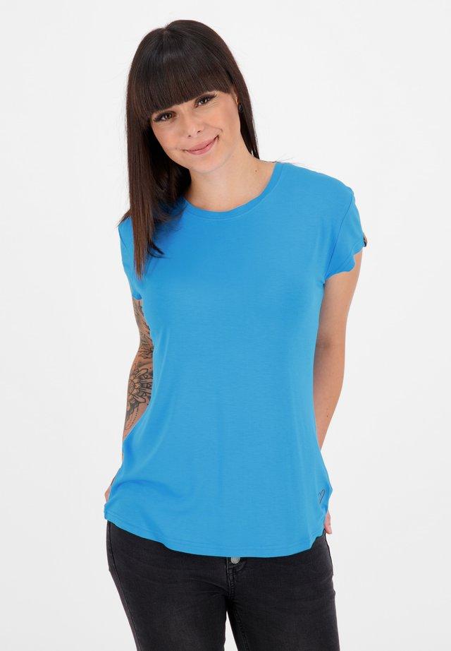 Basic T-shirt - cobalt