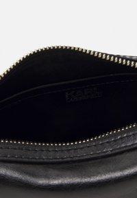 KARL LAGERFELD - SLASH SMALL TOP HANDLE - Handbag - black - 3