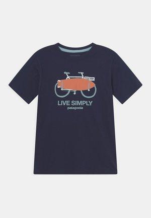 BOYS GRAPHIC UNISEX - T-Shirt print - new navy
