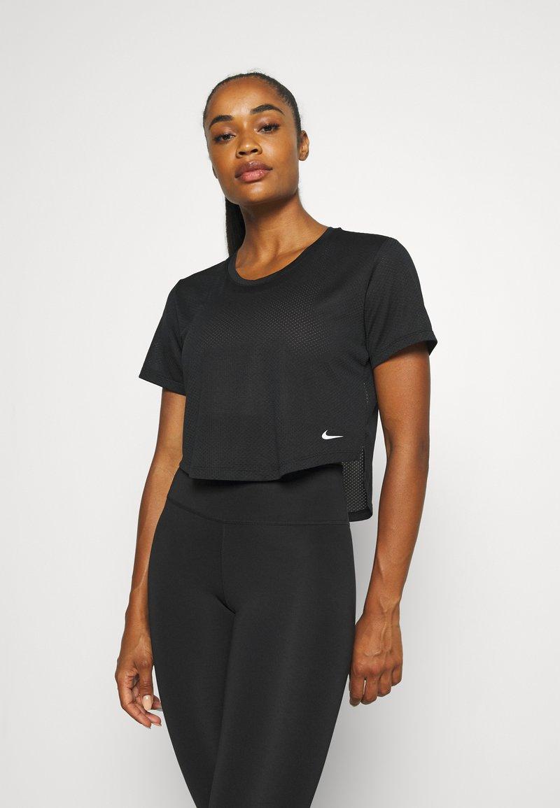 Nike Performance - T-Shirt basic - black/white