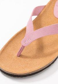 Scholl - TISTOIS - Sandalias de dedo - rose clair - 2