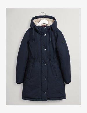 Winter coat - evening blue