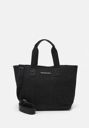BEACH TOTE UNISEX - Shopping Bag - black