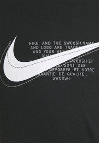 Nike Sportswear - COURT TEE - T-shirt print - black - 6