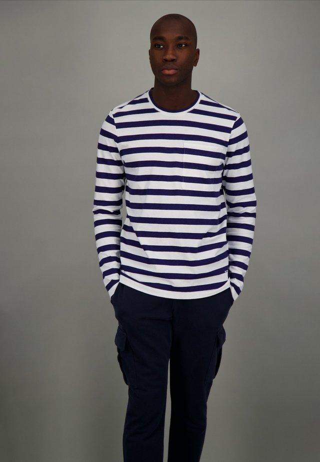 Long sleeved top - wide stripe