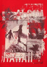 Cecil - Print T-shirt - rot - 4