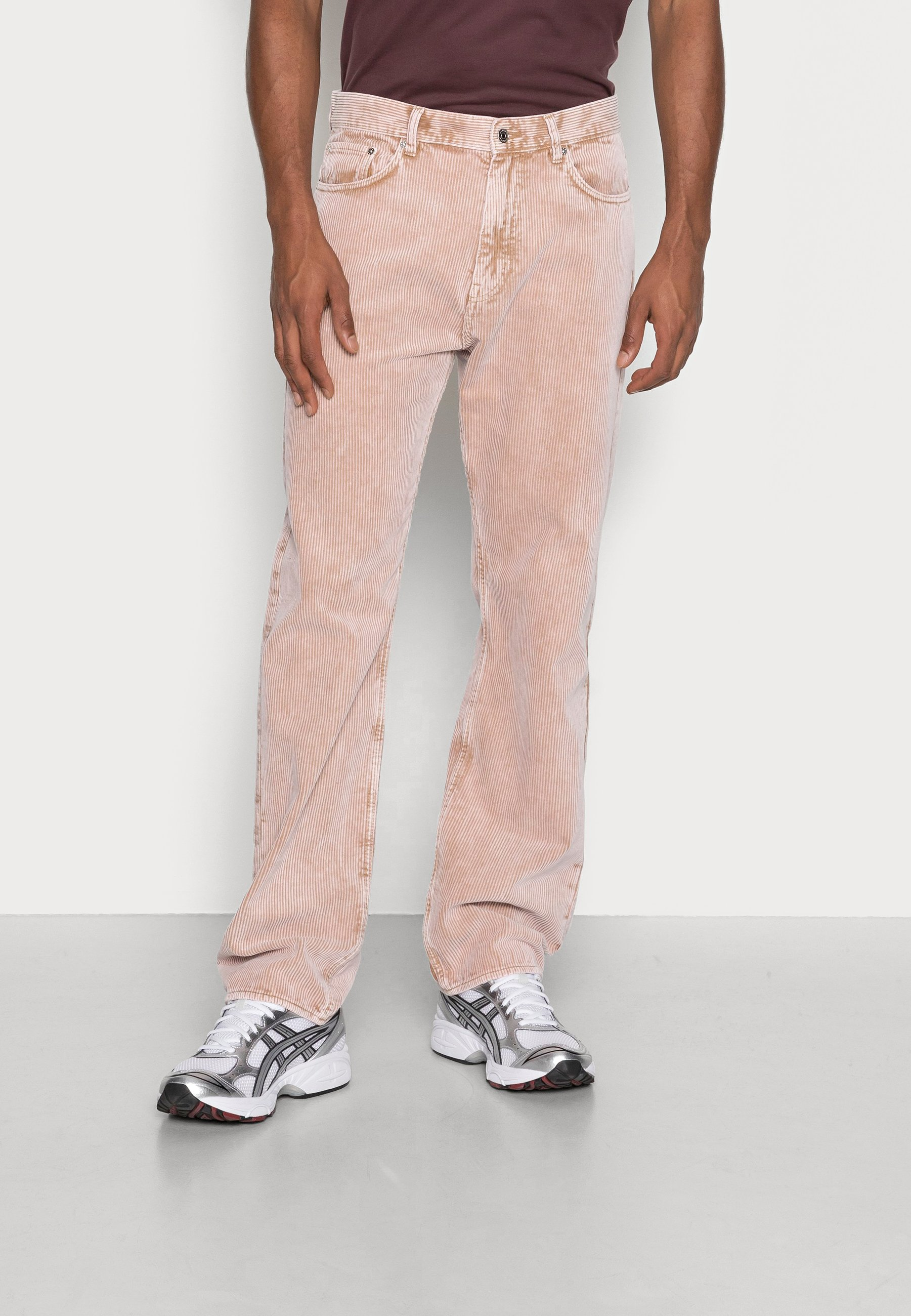 Men SPACE WASHED TROUSERS - Trousers