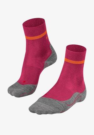 RU4 - Sports socks - rose / orange