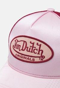 Von Dutch - TRUCKER UNISEX - Cap - pink/red - 3