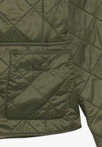 Barbour - BARBOUR GIRLS DEVERON POLARQUILT - Light jacket - olive/pearl - 3