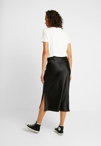 Topshop - SPLIT BIAS - A-Linien-Rock - black - 2