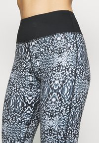 Wolf & Whistle - ABSTRACT PRINT LEGGINGS CORE - Leggings - blue - 3
