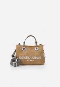 Emporio Armani - BAG SET - Handbag - natural/bianco - 1