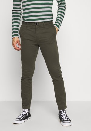 TEDDINGTON WASHED - Chinos - khaki