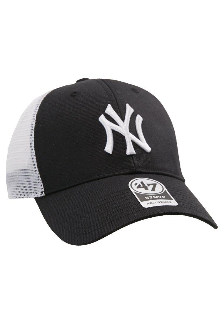 '47 BRANSON - Cap - black/svart ETfAZIaJguH1KbS