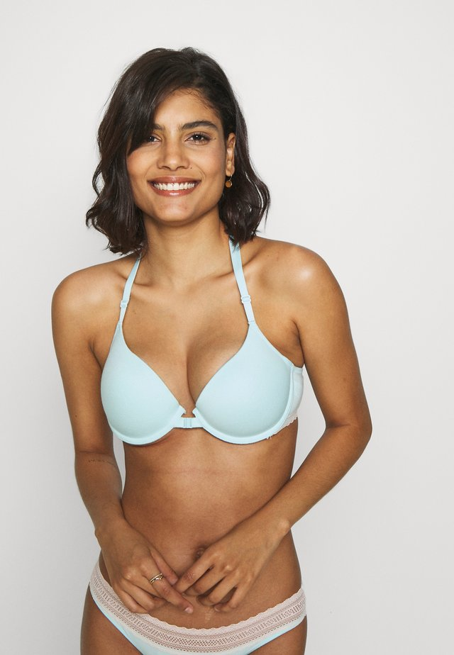 SHORE - Underwired bra - blue