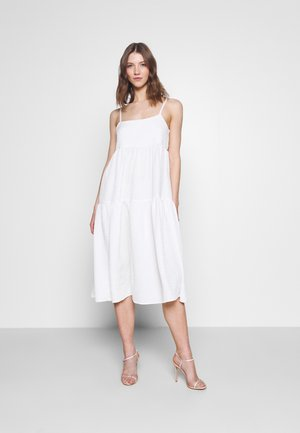 YASJANNA STRAP MIDI DRESS CELEB - Occasion wear - star white