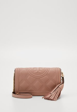 FLEMING SOFT WALLET CROSSBODY - Across body bag - pink moon