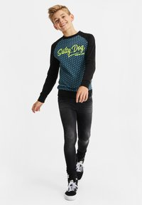 WE Fashion - Jeans Skinny Fit - black - 0