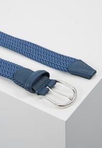 Anderson's - STRECH BELT UNISEX - Pletený pásek - teal - 2