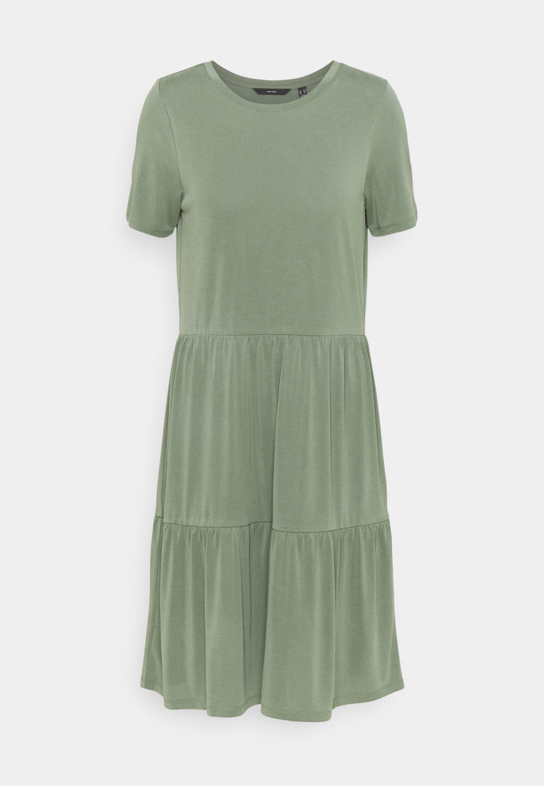 Women VMFILLI CALIA DRESS - Jersey dress